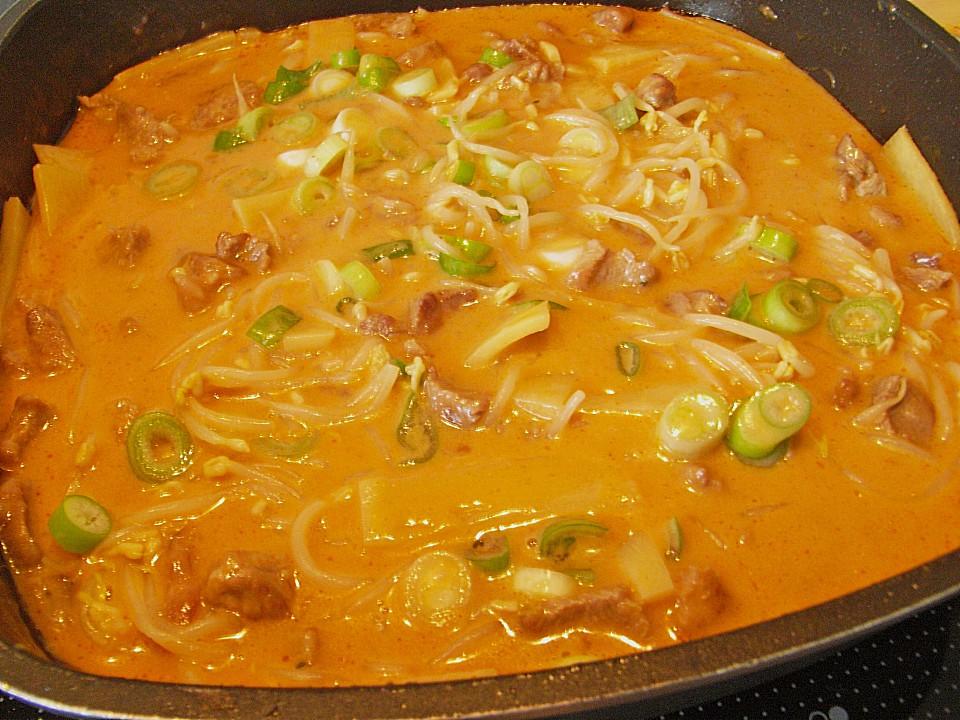 Leckere Rezepte Mit Putenfleisch : cocoscurry mit putenfleisch im wok rezept mit bild ~ Lizthompson.info Haus und Dekorationen