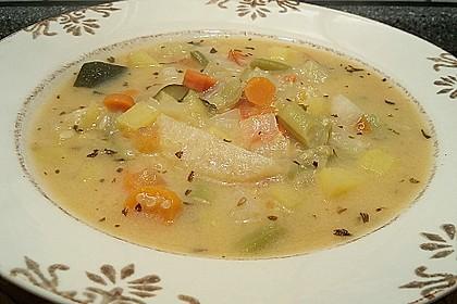 Gemüsesuppe mit Quinoa 1