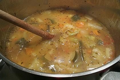 Gemüsesuppe mit Quinoa 4