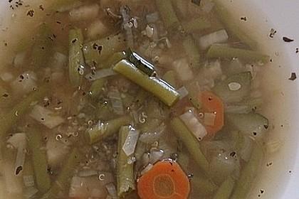 Gemüsesuppe mit Quinoa 5