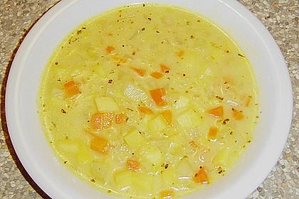 Gemüsesuppe mit Quinoa 2