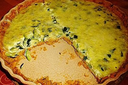 Linsen - Zucchini - Tarte 16