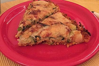 Linsen - Zucchini - Tarte 24