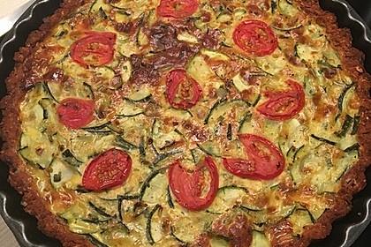 Linsen - Zucchini - Tarte 3
