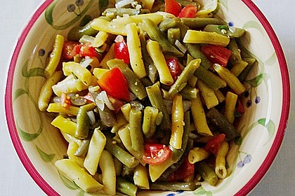 Bohnensalat grün - gelb