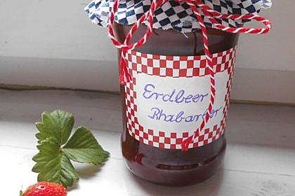 Erdbeer - Rhabarber - Marmelade 4