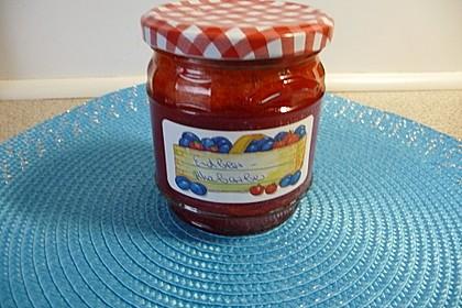 Erdbeer - Rhabarber - Marmelade 12