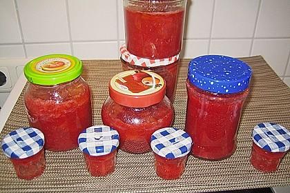 Erdbeer - Rhabarber - Marmelade 20