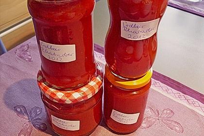Erdbeer - Rhabarber - Marmelade 13