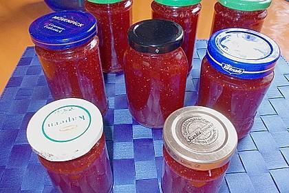 Erdbeer - Rhabarber - Marmelade 18