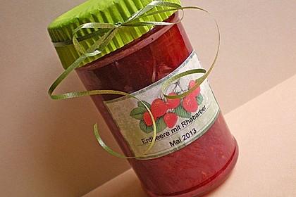 Erdbeer - Rhabarber - Marmelade 10