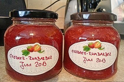 Erdbeer - Rhabarber - Marmelade 19