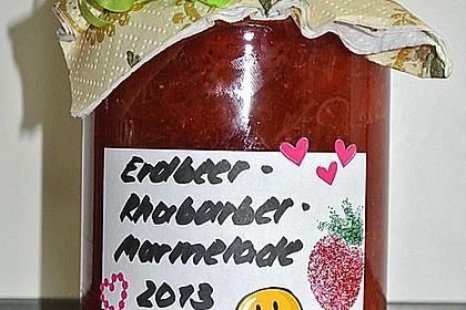 Erdbeer - Rhabarber - Marmelade 7