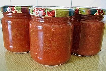 Erdbeer - Rhabarber - Marmelade 16