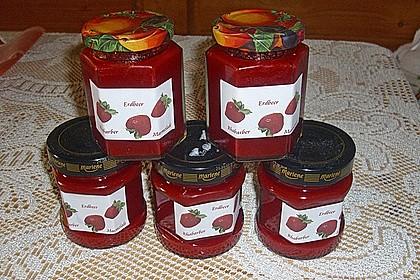 Erdbeer - Rhabarber - Marmelade 14