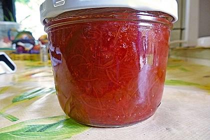 Erdbeer - Rhabarber - Marmelade 9