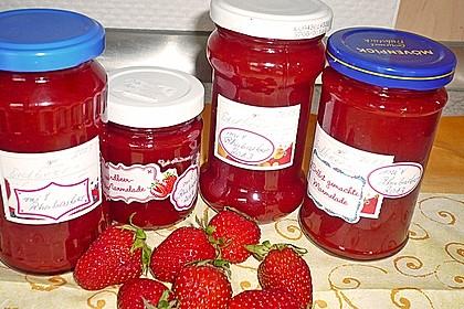 Erdbeer - Rhabarber - Marmelade 11