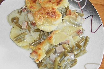 Kartoffel - Bohnen - Auflauf 3