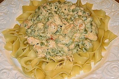 Feuermohns Pasta mit Lachssauce 2