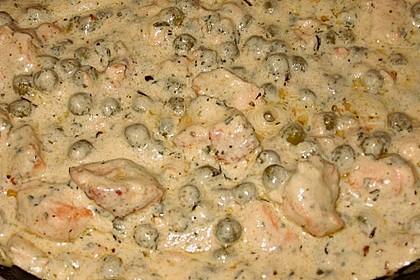 Feuermohns Pasta mit Lachssauce 4