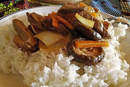 Kon - Pao Sauce, chinesische pikante Sauce 6