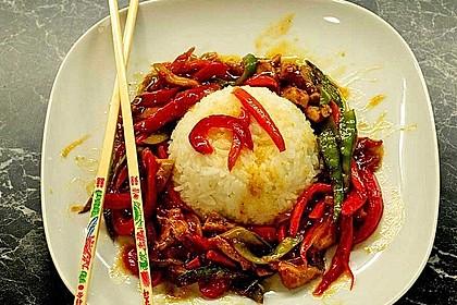 Kon - Pao Sauce, chinesische pikante Sauce 2
