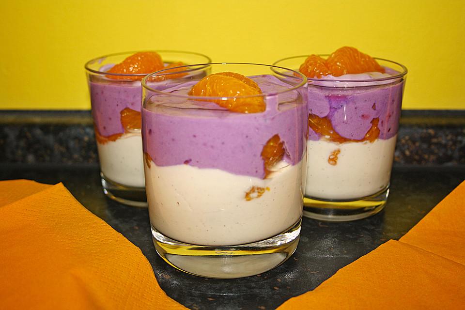 schnelles mandarinen quark dessert rezept mit bild. Black Bedroom Furniture Sets. Home Design Ideas
