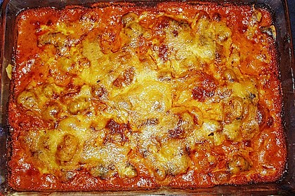 Gnocchi - Auflauf mit Tomate und Mozzarella 18