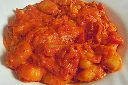 Gnocchi - Auflauf mit Tomate und Mozzarella 38