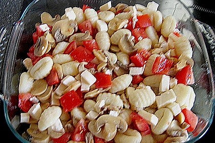 Gnocchi - Auflauf mit Tomate und Mozzarella 69