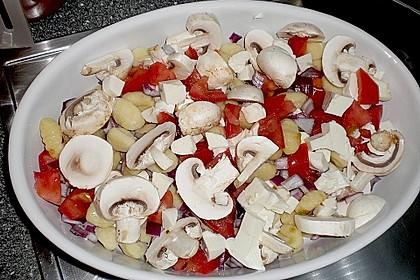 Gnocchi - Auflauf mit Tomate und Mozzarella 41