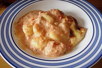 Gnocchi - Auflauf mit Tomate und Mozzarella 37