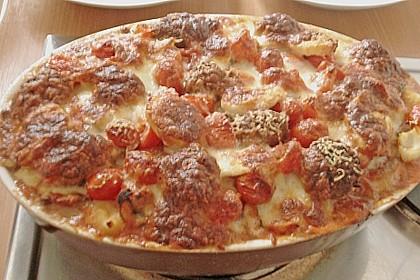 Gnocchi - Auflauf mit Tomate und Mozzarella 70