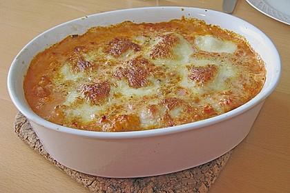 Gnocchi - Auflauf mit Tomate und Mozzarella 12