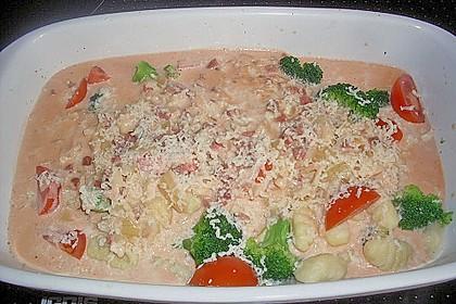 Gnocchi - Auflauf mit Tomate und Mozzarella 61
