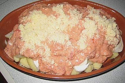 Gnocchi - Auflauf mit Tomate und Mozzarella 67