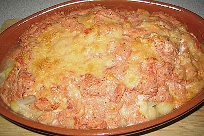 Gnocchi - Auflauf mit Tomate und Mozzarella 31