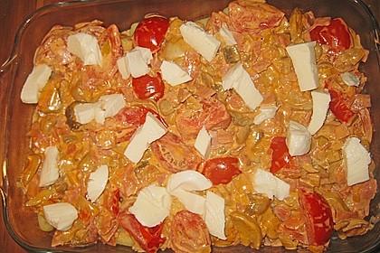 Gnocchi - Auflauf mit Tomate und Mozzarella 35