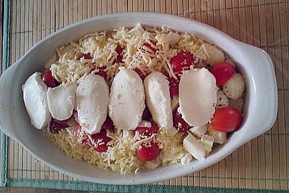 Gnocchi - Auflauf mit Tomate und Mozzarella 33