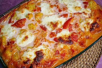 Gnocchi - Auflauf mit Tomate und Mozzarella 17