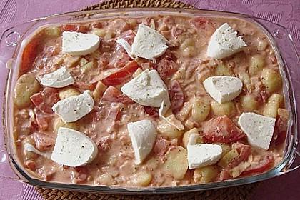 Gnocchi - Auflauf mit Tomate und Mozzarella 53