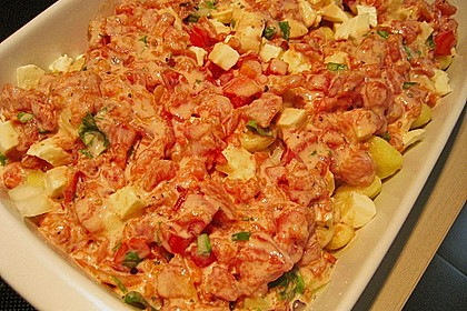 Gnocchi - Auflauf mit Tomate und Mozzarella 44
