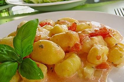 Gnocchi - Auflauf mit Tomate und Mozzarella 1