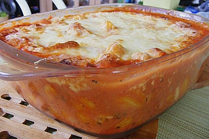 Gnocchi - Auflauf mit Tomate und Mozzarella 36