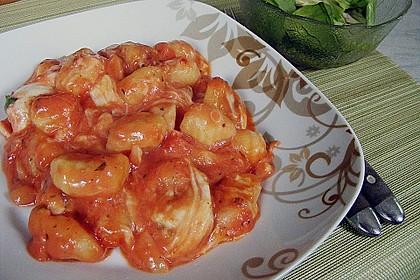 Gnocchi - Auflauf mit Tomate und Mozzarella 6