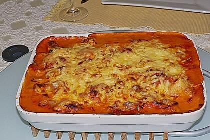 Gnocchi - Auflauf mit Tomate und Mozzarella 7