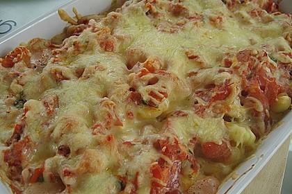Gnocchi - Auflauf mit Tomate und Mozzarella 13