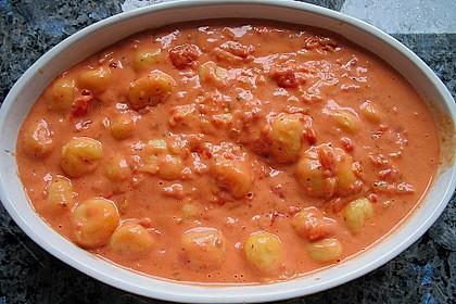 Gnocchi - Auflauf mit Tomate und Mozzarella 22