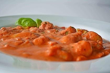 Gnocchi - Auflauf mit Tomate und Mozzarella 16