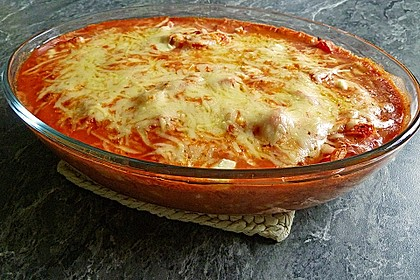 Gnocchi - Auflauf mit Tomate und Mozzarella 8